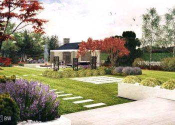 projekty ogrodów przydomowych